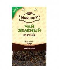 Чай листовой Marcony зеленый молочный 50г