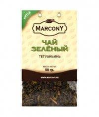 Чай листовой Marcony зеленый Тегуаньинь 50г