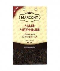 Чай чёрный листовой Marcony юньнаньский Дянь Хун 50г