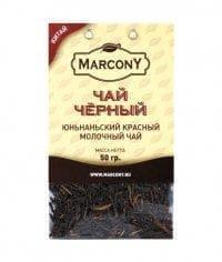 Чай чёрный листовой Marcony юньнаньский молочный 50г