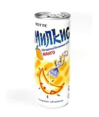 Газированный напиток Lotte Милкис Манго банка 250 мл