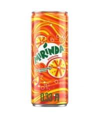 Газированный напиток Mirinda Апельсин жест. банка 330 мл