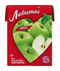 Любимый Яблоко 200мл тетрапак 0.2 л