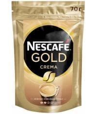 Кофе растворимый Nescafé Gold Crema пакет 70г