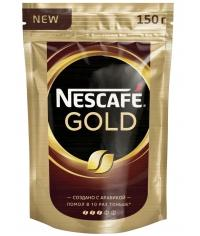 Кофе растворимый Nescafé Gold пакет 150г