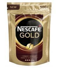 Кофе растворимый Nescafé Gold пакет 500г