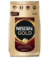 Кофе растворимый Nescafé Gold пакет 750г