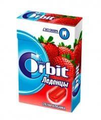 Леденцы Orbit Спелая клубника 35г