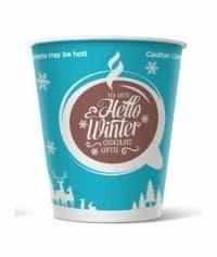 Бумажный стакан Hello Winter d=80 250мл
