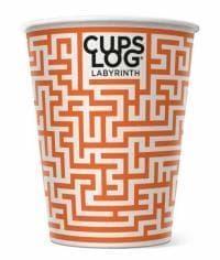 Бумажный стакан Cupslog Лабиринт d=90 300мл