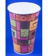 Бумажный стакан Huhtamaki SP16S Чашки d=90 400мл