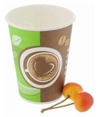Бумажный стакан Huhtamaki SP12 Кофе с собой (100 шт) d=90 300мл