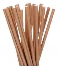 Бумажные трубочки Крафт 197 мм d=6мм (250 шт)
