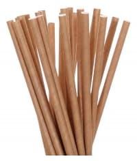 Бумажные трубочки Крафт 200мм d=6мм (250 шт)