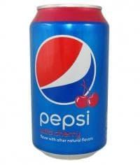 Пепси Дикая Вишня банка 330 мл Pepsi Wild Cherry 0,33
