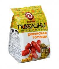 Колбаски Дымов Пиколини Дижонская горцица 50 гр