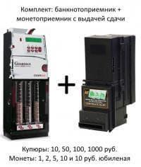 Платежная система (монетоприемник+купюроприемник)