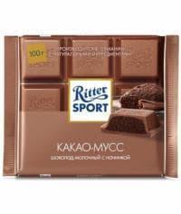 Шоколад Риттер Спорт Какао Мусс Ritter Sport 100г