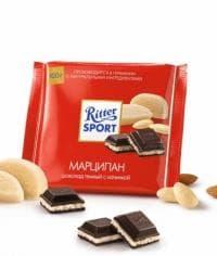 Шоколад Риттер Спорт с Марципаном Ritter Sport 100г