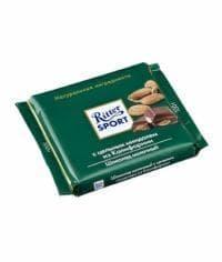 Шоколад Риттер Спорт Молочный с Цельным МиндалёмRitter Sport 100 грамм