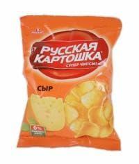 Чипсы Русская Картошка Сыр 20 грамм