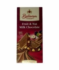 Шоколад BELLAROM UTZ Fruit&Nut Milk 200 гр
