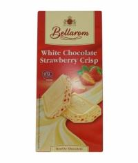 Шоколад BELLAROM UTZ White Strawberry Crisp 200 гр