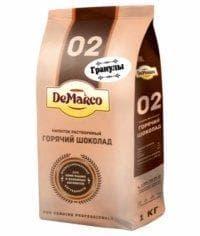 Горячий шоколад DeMarco 02 в гранулах 1000 гр