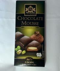Шоколад JDGross Chocolate Mousse pistachio 182,5 г