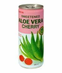 Lotte Aloe Vera Cherry Вишня 240мл банка 0.24л