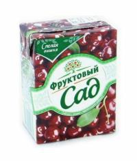 Фруктовый Сад Вишня Яблоко 200 мл тетрапак 0.2