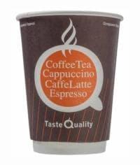 Бумажный стакан Taste Quality 2-слойный d=90 300мл