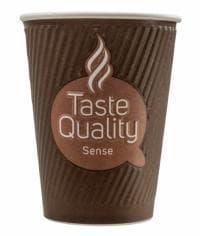 Бумажный стакан Taste Quality Sense 2-слойный (100 шт) d=90 300мл