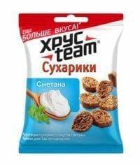 Сухарики Хрустим Сметана 40 грамм