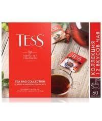 Набор чая TESS 12 видов 60 пакетиков 101 г