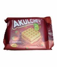 """Вафли Венские """"Акульчев"""" ЗЕМЛЯНИКА 50 г"""