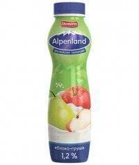 Йогурт питьевой Alpenland 1,2% Яблоко-Груша 290 г