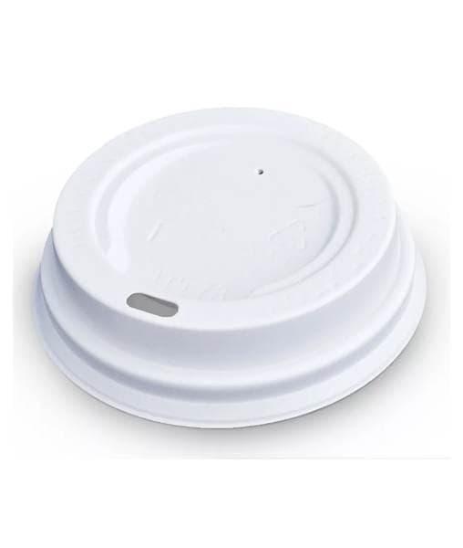 Крышка для стакана (100 шт) Белая ∅ 89