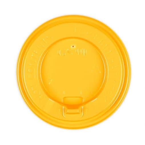 Крышка с клапаном Желтая d=90